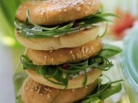 Cream Cheese and Avocado Bagels recipe
