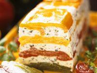 Cream Cheese and Bell Pepper Terrine recipe