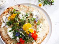 Cream Cheese, Parmesan and Herb Pizza recipe