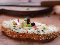 Cream Cheese, Radish and Cucumber Tartines recipe