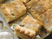Cream Cheese Squares with Almonds recipe