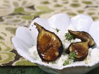 Cream Cheese with Grilled Figs recipe