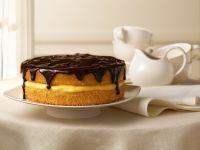 Cream-filled Gateau with Glaze recipe