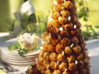 Cream Puff Tower (Choux à La Crème) recipe