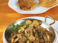 Creamed Veal and Potatoes recipe