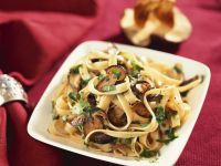 Creamy Alfredo Pasta with Mushrooms recipe