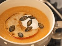 Creamy Apple and Sweet Potato Soup recipe