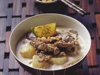 Creamy Beef and Potato Curry recipe