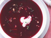 Creamy Beet and Potato Soup recipe
