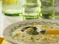 Creamy Black Salsify Soup recipe
