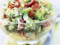 Creamy Broccoli and Tomato Bowl recipe