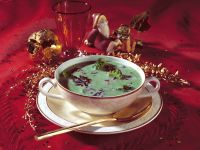 Creamy Broccoli Wild Rice Soup recipe