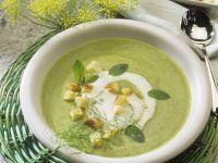 Creamy Broccoli-Zucchini Soup recipe