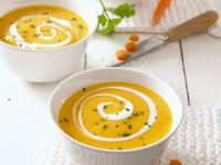 Creamy Carrot and Herb Soup recipe