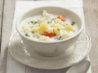 Creamy Cauliflower Soup with Dill recipe