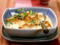 Creamy Chanterelle Soup recipe
