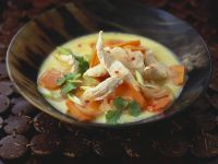 Creamy Chicken and Carrot Soup recipe
