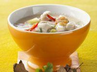 Creamy Chicken and Coconut Soup recipe
