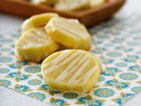 Creamy Citrus Cookies recipe