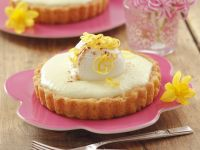 Creamy Citrus Tarts recipe