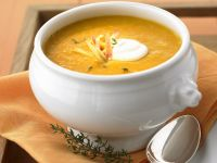 Creamy Fruit and Pumpkin Bisque recipe