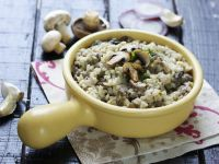 Creamy Italian Rice with Funghi recipe
