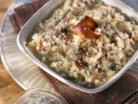 Creamy Italian Rice with Pork recipe