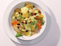Creamy Kohlrabi Gratin recipe