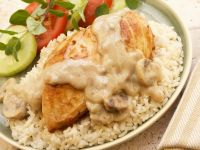 Creamy Mushroom Chicken Breasts recipe