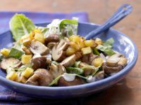 Creamy Mushroom Salad recipe