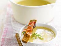 Creamy Potato Soup with Bacon recipe