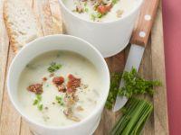 Creamy Potato Soup with Porcini Mushrooms recipe