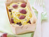 Creamy Pudding with Grapes recipe