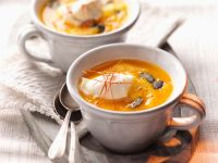 Creamy Pumpkin Soup in Teacups recipe