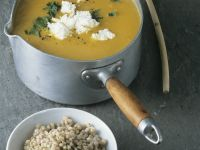 Creamy Pumpkin Soup with Buckwheat recipe