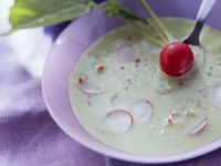 Creamy Radish and Potato Soup recipe