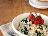 Creamy Rice with Blue Cheese recipe