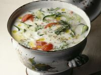 Creamy Salad Broth recipe