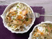 Creamy Smoked-Salmon Pasta recipe