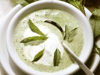 Creamy Sorrel Soup recipe