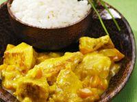 Creamy Spiced Turkey Curry recipe