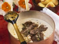 Creamy Steak Stew recipe