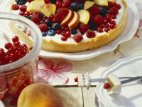 Creamy Tart with Fruit recipe
