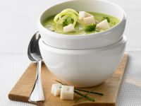 Creamy Veg Veloute with Soft Cheese recipe