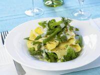 Creamy Vegetable Noodles recipe