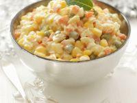 Creamy Vegetable Salad recipe