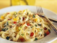Creamy Vegetarian Pasta recipe