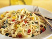 Creamy Vegetarian Pasta