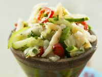 Creole Cod Salad with Vegetables recipe