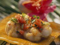 Creole-style Fish with Tomato Salsa recipe